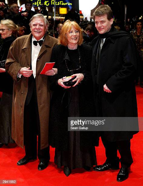 Cameraman Michael Ballhaus arrives with his wife Helga and son Sebastian at the 54th annual Berlinale International Film Festival screening of Cold...
