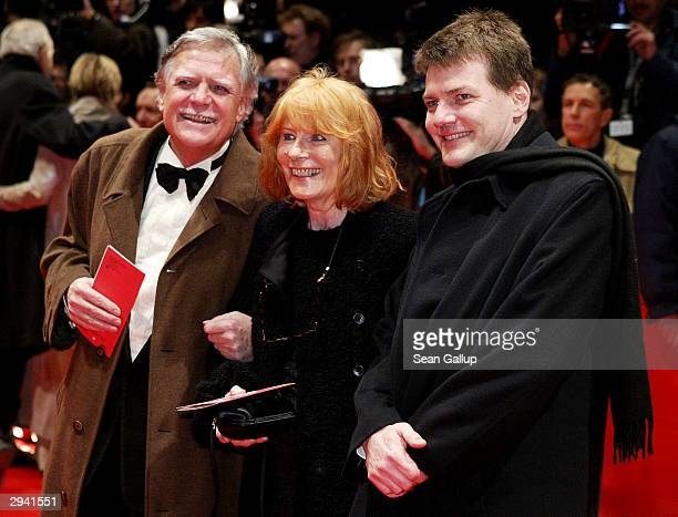 Cameraman Michael Ballhaus with his wife Helga and son Sebastian attends the 54th annual Berlinale International Film Festival screening of Cold...