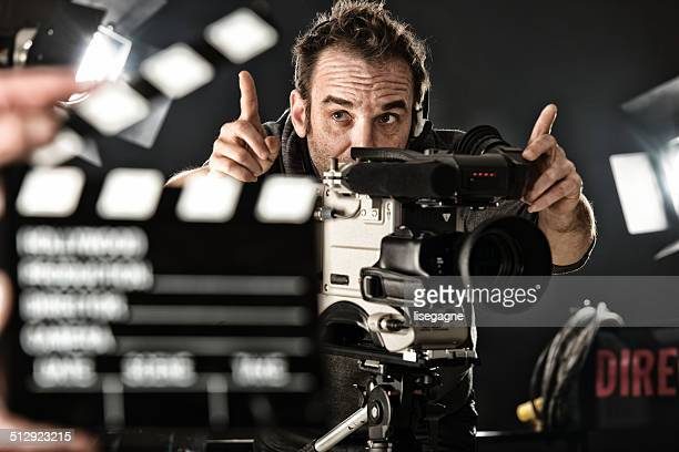 Cameraman on set