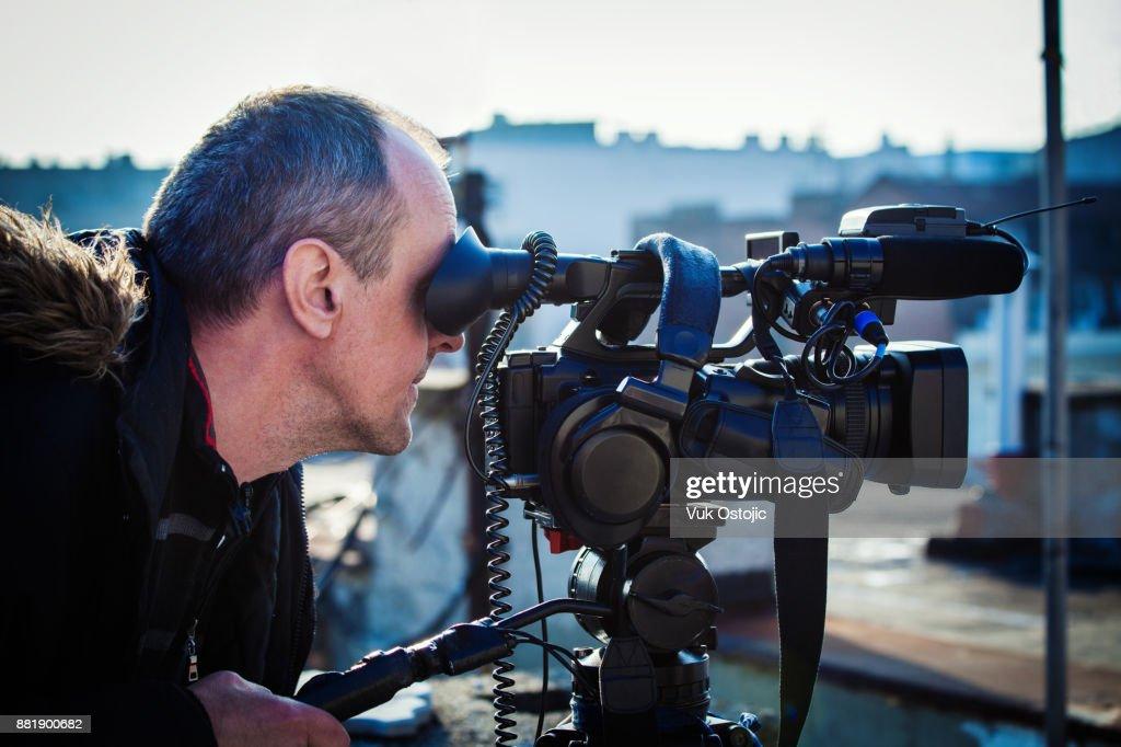 Cameraman : Stock Photo