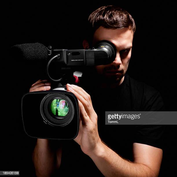 Cameraman with Video Camera