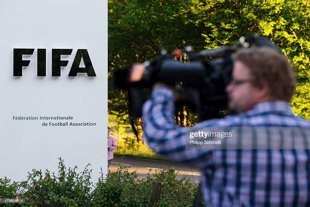 FIFA President Sepp Blatter Announces Resignation : News Photo