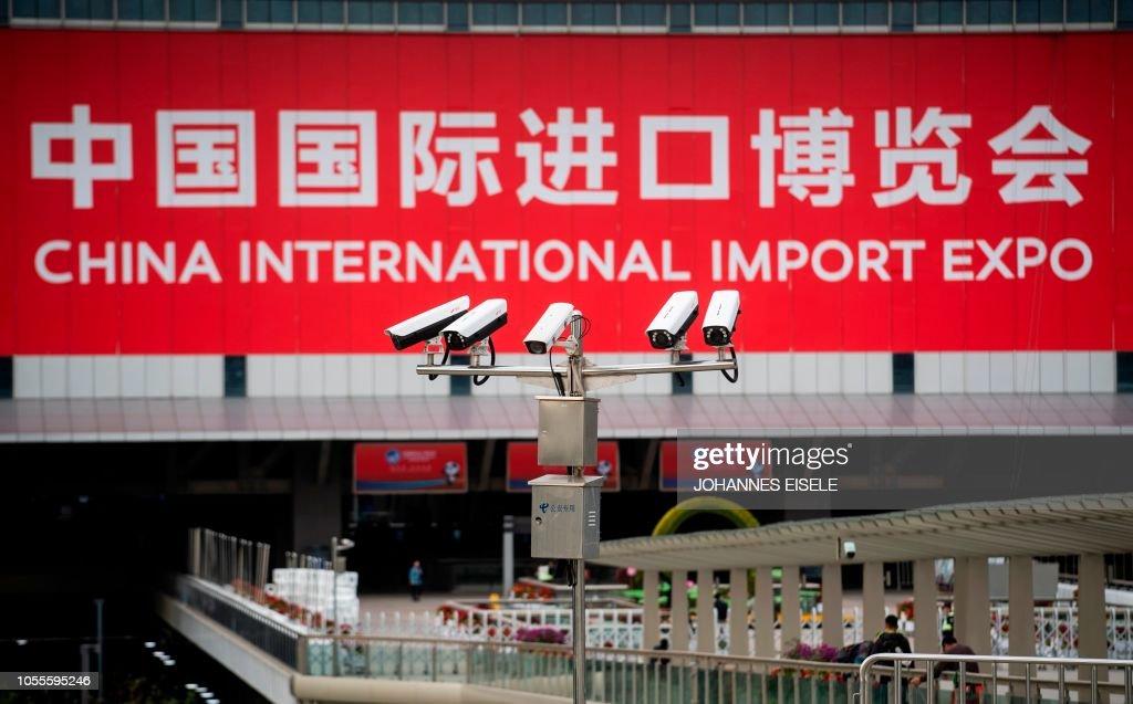 CHINA-US-TRADE-DISPUTE-DIPLOMACY : News Photo