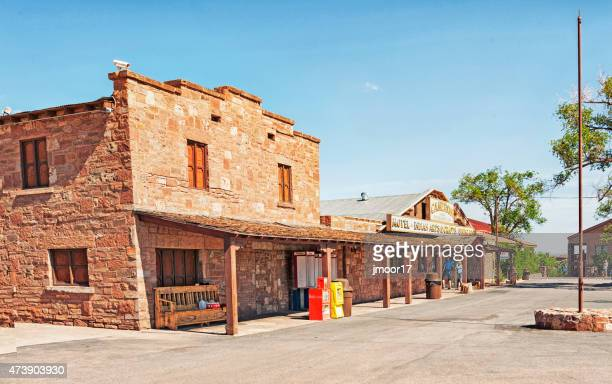 cameron arizona trading post with people - trading_post stock pictures, royalty-free photos & images