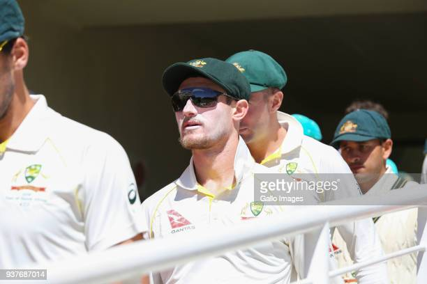 Cameron Bancroft from Australia during day 4 of the 3rd Sunfoil Test match between South Africa and Australia at PPC Newlands on March 25 2018 in...
