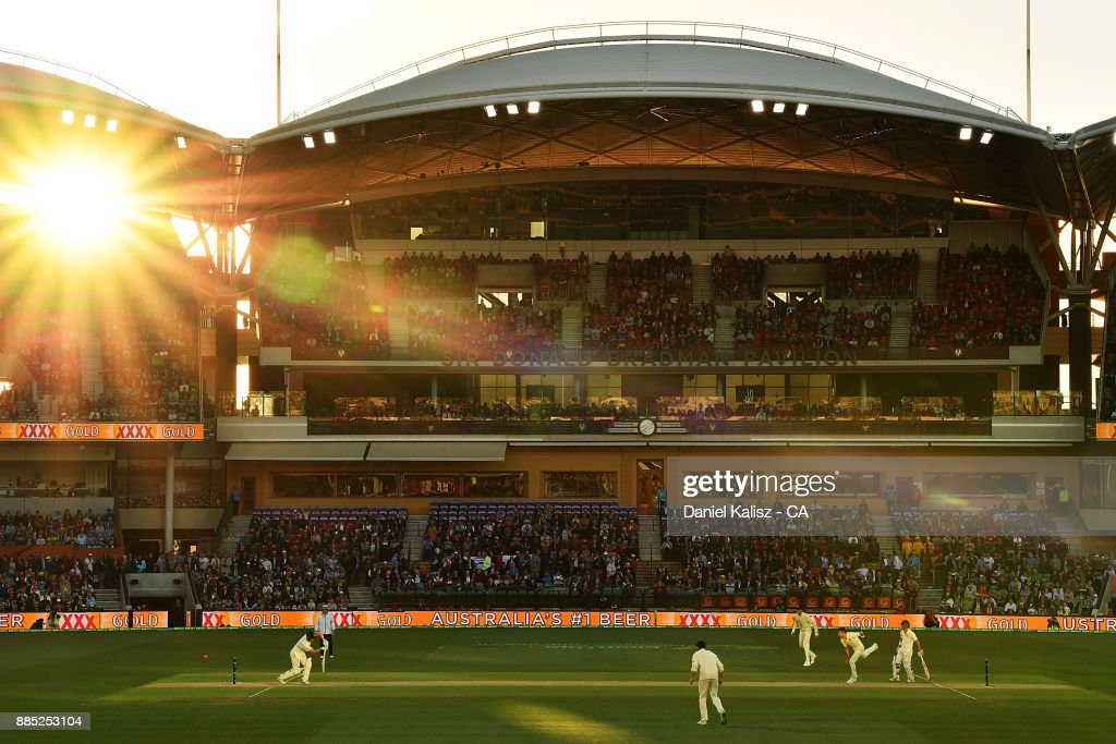 Cameron Bancroft of Australia bats during day three of the Second Test match during the 2017/18 Ashes Series between Australia and England at Adelaide Oval on December 4, 2017 in Adelaide, Australia.