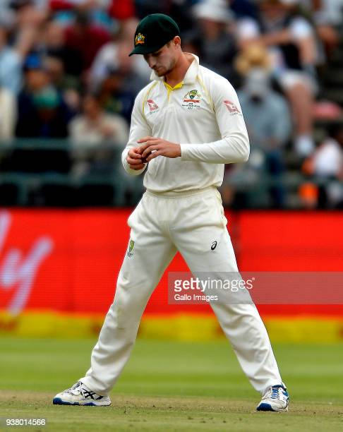 Cameron Bancroft of Australia during day 3 of the 3rd Sunfoil Test match between South Africa and Australia at PPC Newlands on March 24 2018 in Cape...