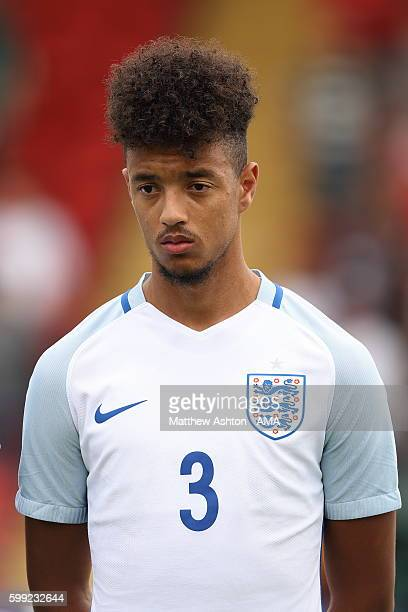 Cameron BorthwickJackson of England during the International friendly match between England U20 and Brazil U20 at Aggborough Stadium on September 4...