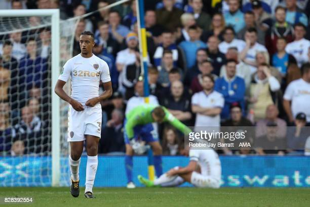 Cameron BorthwickJackson of Leeds United dejected after conceding to make it 11 during the Carabao Cup First Round match between Leeds United and...