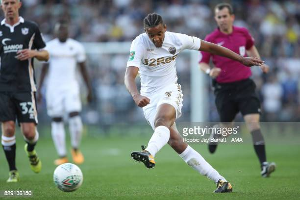 Cameron BorthwickJackson of Leeds United during the Carabao Cup First Round match between Leeds United and Port Vale at Elland Road on August 9 2017...