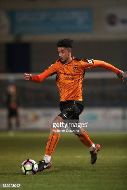 Cameron BorthwickJackson of Wolverhampton Wanderers during the Under 23 Premier League 2 game between Wolverhampton Wanderers and Stoke City on...