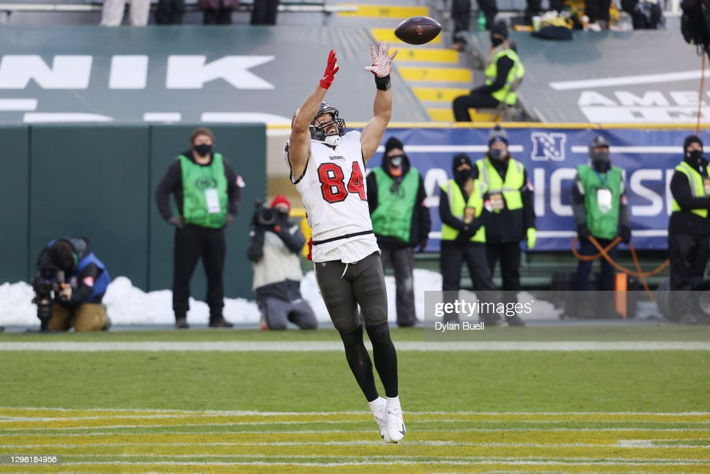 NFC Championship - Tampa Bay Buccaneers v Green Bay Packers : ニュース写真