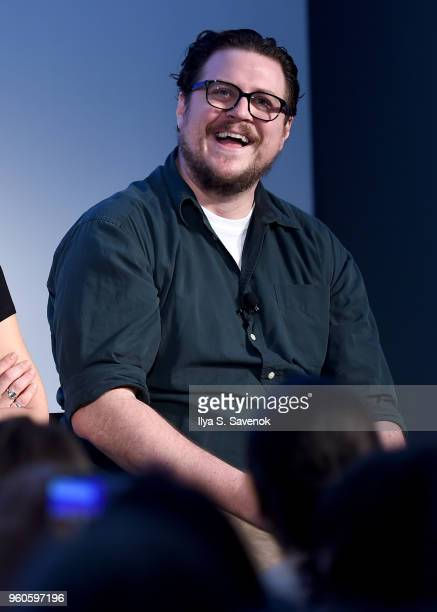 Cameron Britton speaks onstage during Get Your Mind Blown With the Cast of Mindhunter on Day Two of the Vulture Festival Presented By ATT at Milk...