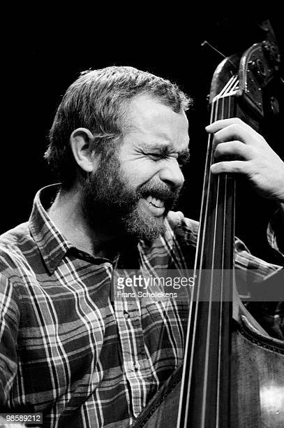 Cameron Brown performs live on stage at Meervaart in Amsterdam, Netherlands on April 29 1984