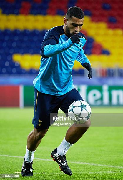 Cameron Carter Vickers of Tottenham Hotspur during a training session at the CSKA arena on September 26 2016 on the eve of the UEFA Champions League...