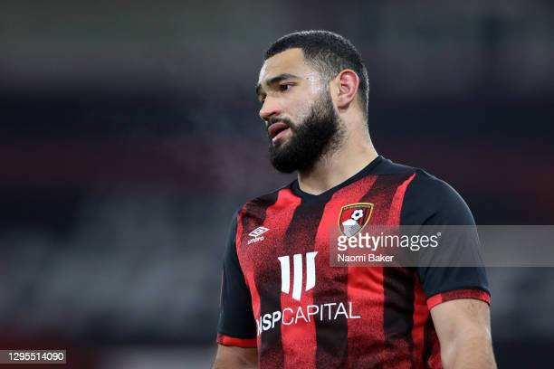 Cameron Carter-Vickers of AFC Bournemouth during the FA Cup Third Round match between Oldham Athletic and AFC Bournemouth at Vitality Stadium on...