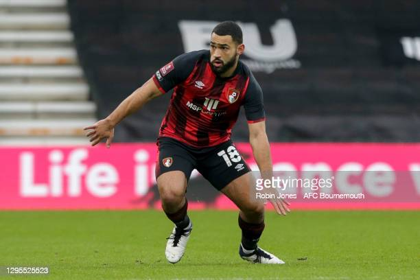 Cameron Carter-Vickers of Bournemouth during FA Cup 3rd Round match between Oldham Athletic and AFC Bournemouth at Vitality Stadium on January 09,...