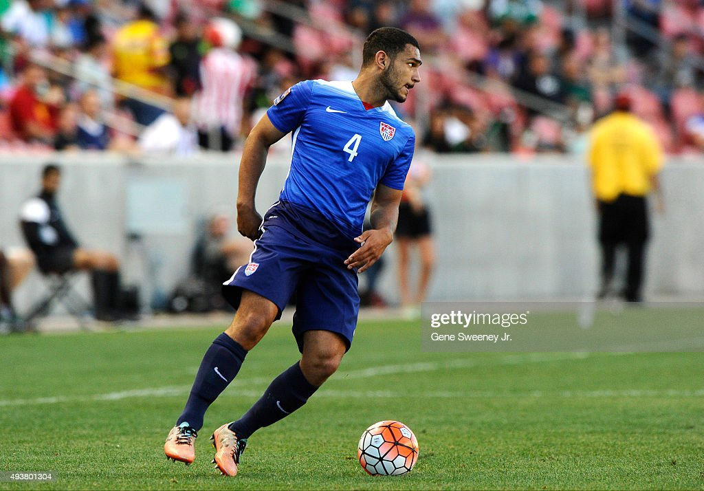 United States v Canada: Third Place - 2015 CONCACAF Olympic Qualifying : News Photo