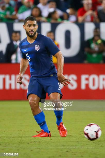 Cameron CarterVickers of the USA plays against Mexico in a friendly match at Nissan Stadium on September 11 2018 in Nashville Tennessee