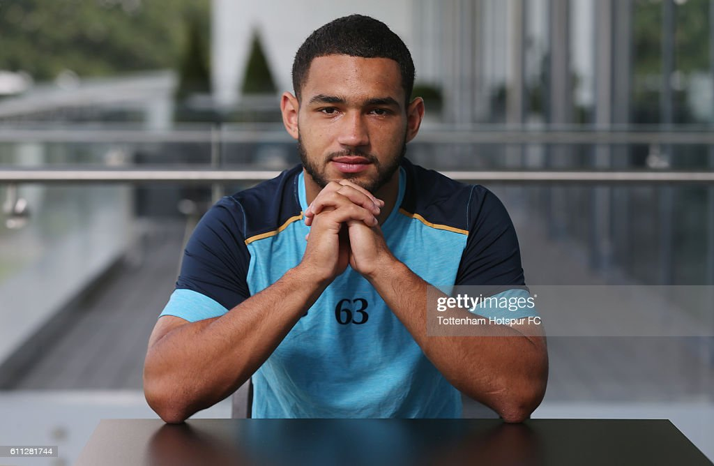 Cameron Carter-Vickers Signs A New Contract At Tottenham Hotspur : News Photo