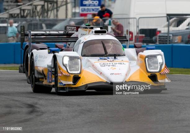 Cameron Cassels CAN Robert Masson USA Kyle Masson USA driver LE MANS PROTOTYPE 2 of Performance Tech Motorsports~ORECA LMP2 07 during the Roar before...