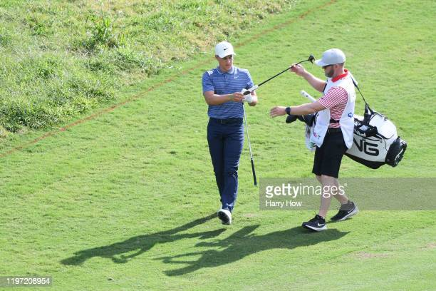 Cameron Champ of the United States walks on the sixth hole during the first round of the Sentry Tournament Of Champions at the Kapalua Plantation...