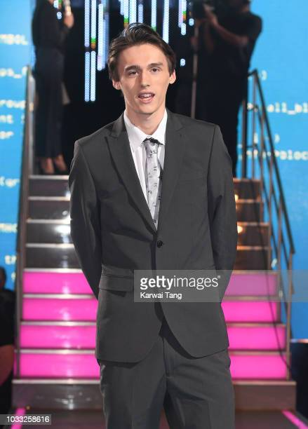Cameron Cole enters the Big Brother house at Elstree Studios on September 14 2018 in Borehamwood England