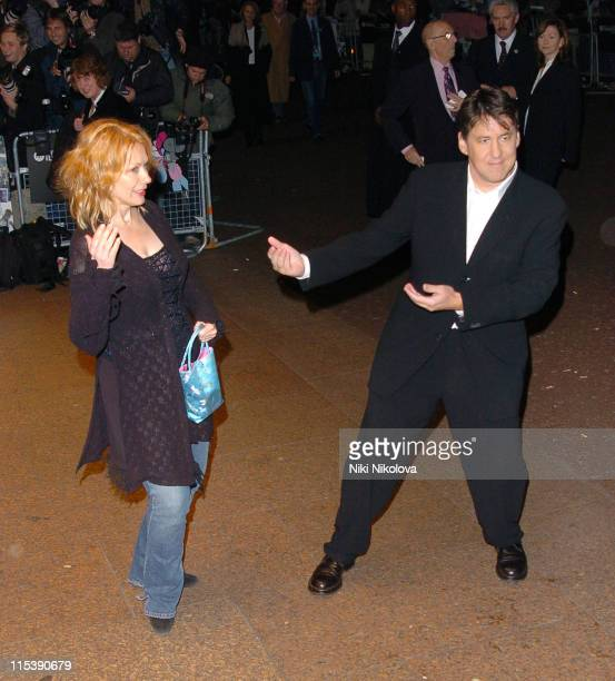 Cameron Crowe and his wife Nancy Wilson during The Times BFI 49th London Film Festival Elizabethtown Premiere Arrivals at Odeon West End in London...