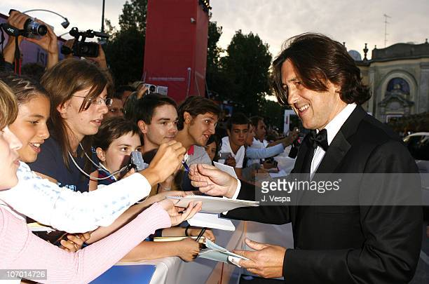 Cameron Crowe during The 63rd International Venice Film Festival The Black Dahlia Premiere Red Carpet and Inside at Palazzo Del Cinema in Venice Lido...