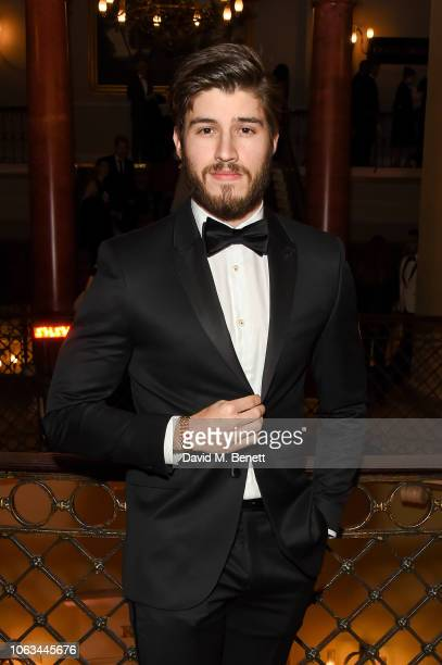 Cameron Cuffe attends The 64th Evening Standard Theatre Awards at the Theatre Royal Drury Lane on November 18 2018 in London England