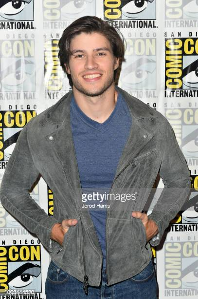 Cameron Cuffe attends the 'Krypton' Press Line during ComicCon International 2018 at Hilton Bayfront on July 21 2018 in San Diego California