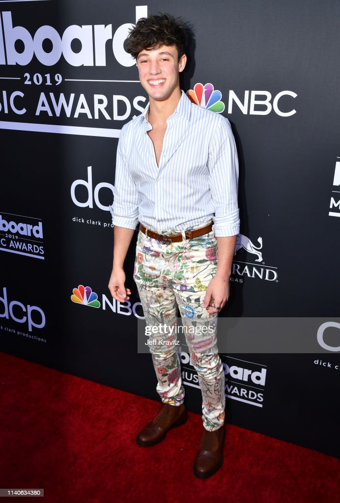 Cameron Dallas attends the 2019 Billboard Music Awards at