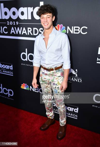 Cameron Dallas attends the 2019 Billboard Music Awards at MGM Grand Garden Arena on May 1 2019 in Las Vegas Nevada