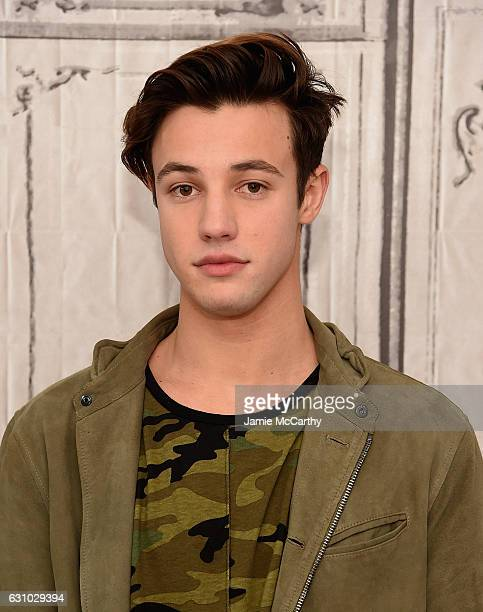 Cameron Dallas attends the Build Presents Cameron Dallas Discussing Know Thy Selfie at AOL HQ on January 5 2017 in New York City