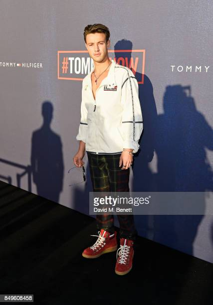 Cameron Dallas attends the Tommy Hilfiger TOMMYNOW Fall 2017 Show during London Fashion Week September 2017 at The Roundhouse on September 19 2017 in...
