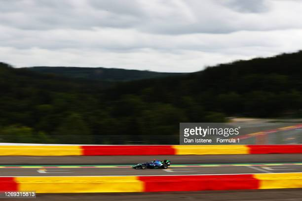 Cameron Das of United States and Carlin Buzz Racing drives during qualifying for the Formula 3 Championship at Circuit de Spa-Francorchamps on August...