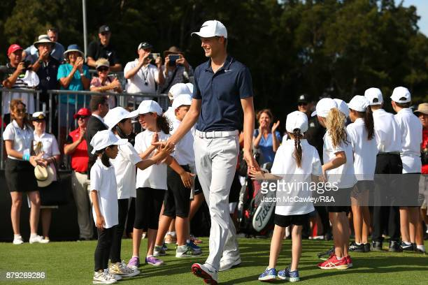 Cameron Davis of Australia during day four of the 2017 Australian Golf Open at the Australian Golf Club on November 26 2017 in Sydney Australia