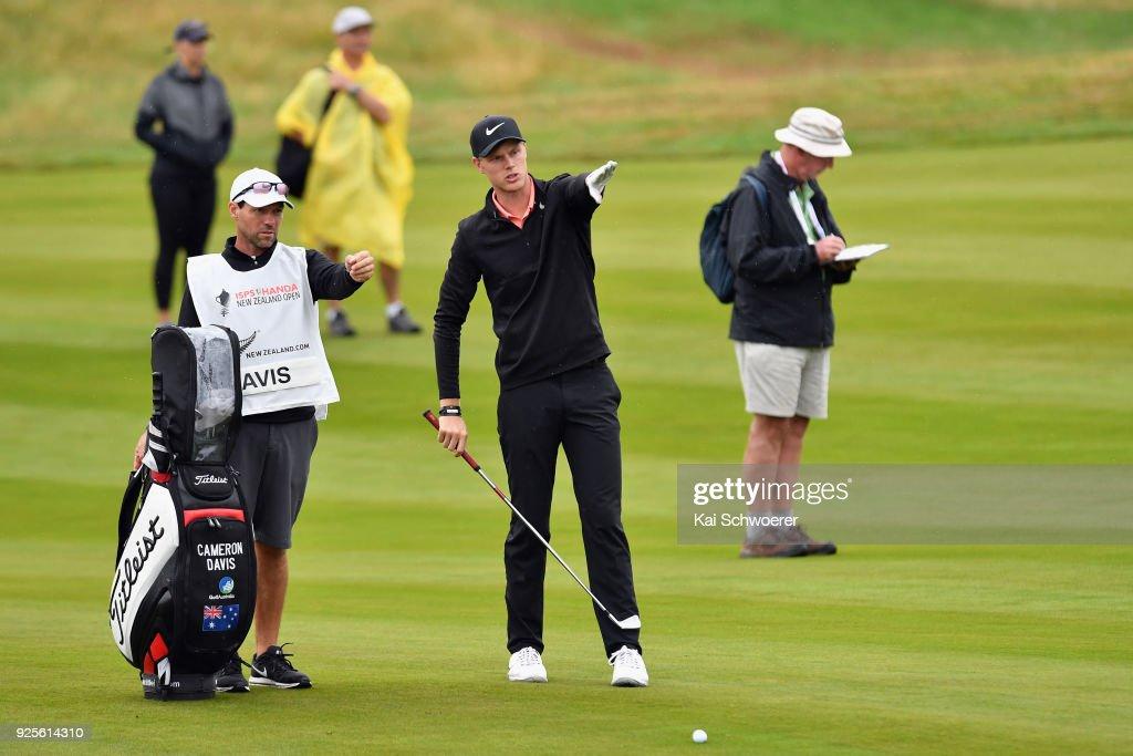 ISPS Handa New Zealand Golf Open - Day 1