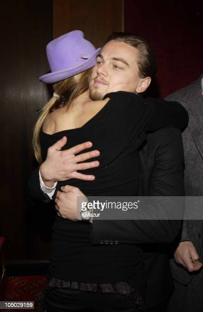 Cameron Diaz and Leonardo DiCaprio during Gangs of New York World Premiere at Ziegfeld Theater in New York City New York United States