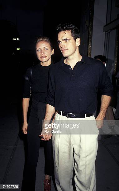 Cameron Diaz and Matt Dillon at the Plaza Hotel in New York City New York
