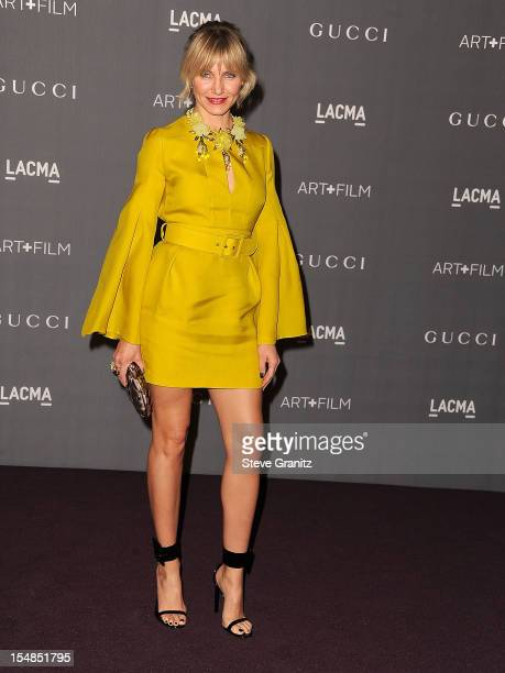 Cameron Diaz arrives at the LACMA Art Gala at LACMA on October 27 2012 in Los Angeles California