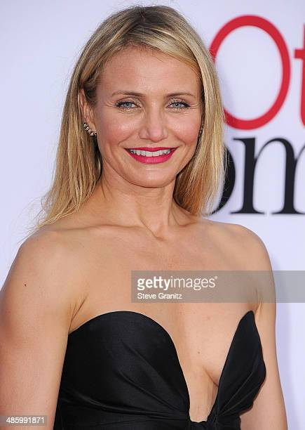 Cameron Diaz arrives at the 'The Other Woman' Los Angeles Premiere at Regency Village Theatre on April 21 2014 in Westwood California