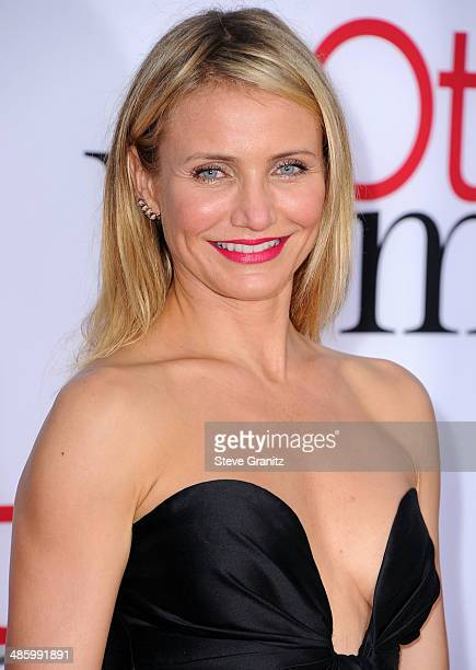 Cameron Diaz arrives at the The Other Woman Los Angeles Premiere at Regency Village Theatre on April 21 2014 in Westwood California