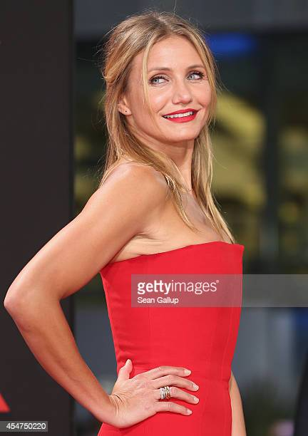 Cameron Diaz arrives for the German premiere of the film 'Sex Tape' at CineStar on September 5, 2014 in Berlin, Germany.