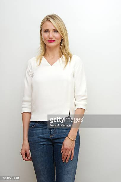Cameron Diaz at 'The Other Woman' Press Conference at the Four Seasons Hotel on April 10 2014 in Beverly Hills California