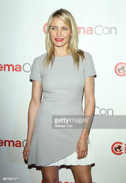 Cameron Diaz attends 20th Century Fox's Special Presentation at Cinemacon 2014 - Day 4 held at The Colosseum at Caesars Palace on March 27, 2014 in...