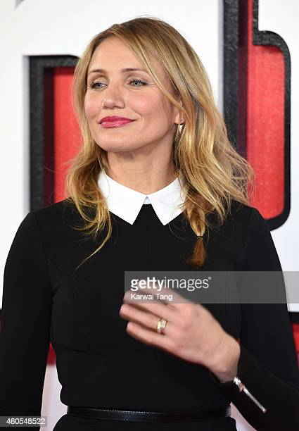 """Cameron Diaz attends a photocall for """"Annie"""" at Corinthia Hotel London on December 16, 2014 in London, England."""