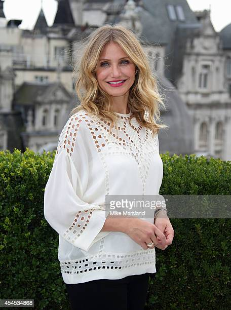 "Cameron Diaz attends a photocall for ""Sex Tape"" at Corinthia Hotel London on September 3, 2014 in London, England."