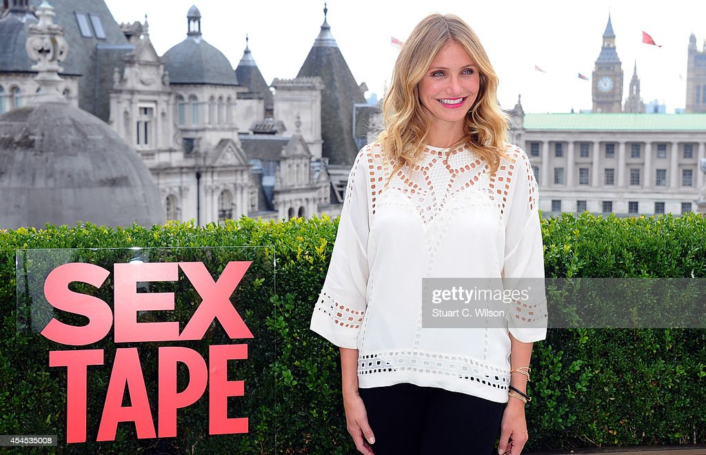 Cameron Diaz attends a photocall for 'Sex Tape' at Corinthia Hotel London on September 3, 2014 in London, England.