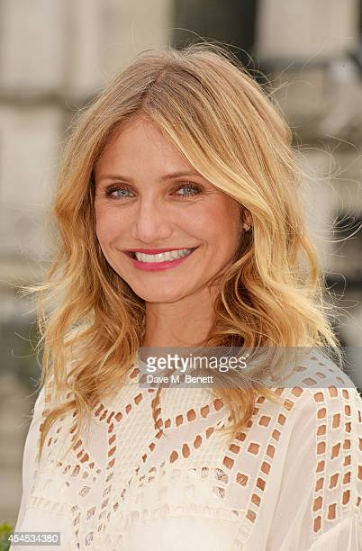 Cameron Diaz attends a photocall for 'Sex Tape' at the Corinthia Hotel London on September 3 2014 in London England